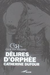 Délires d'Orphée - Intérieur - Format classique