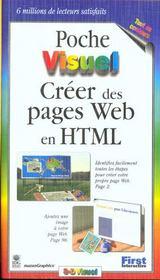 Poche visuel creer des pages web en html - Intérieur - Format classique