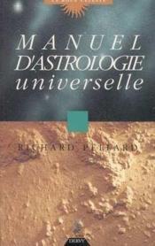 Manuel d'astrologie universelle - Couverture - Format classique