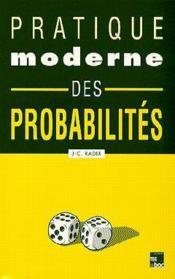 Pratique moderne des probabilites - Couverture - Format classique