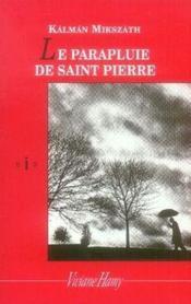 Le parapluie de saint Pierre - Couverture - Format classique