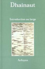 Introduction au large - Intérieur - Format classique