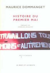 Histoire du premier mai - Intérieur - Format classique