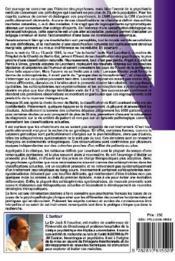 35 psychoses ; la classification des psychoses endogènes de Karl Leonhard ; synopsis et revue des travaux - 4ème de couverture - Format classique