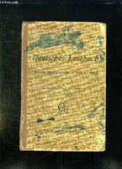 Deutsches Lesebuch. Deutsche Kulturgeschichte In Wort Und Bild. - Couverture - Format classique