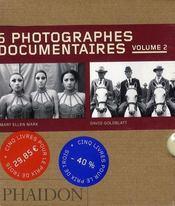 Coffret 55 : 5 photographes documentaires t.2 - Intérieur - Format classique