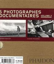 Coffret 55 : 5 photographes documentaires t.2 - 4ème de couverture - Format classique