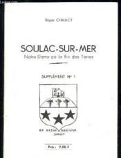 Soulac-Sur-Mer Notre-Dame De La Fin De Terres - Supplement N°1 - Couverture - Format classique