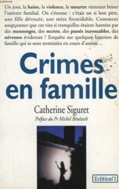Crime En Famille - Couverture - Format classique