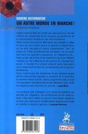 2007 ; un autre monde en marche - 4ème de couverture - Format classique