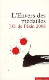 L'Envers Des Medailles ; J.O. De Pekin 2008 - Couverture - Format classique