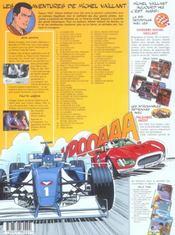 Michel Vaillant t.5 ; le 13 est au départ - 4ème de couverture - Format classique