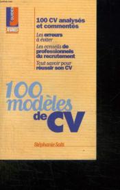 100 modeles de cv - Couverture - Format classique