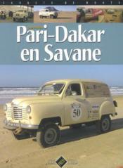 Pari-dakar en savane - Couverture - Format classique
