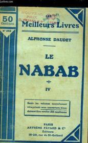 Le Nabab - Moeurs Parisienne - Tome 4 - Couverture - Format classique