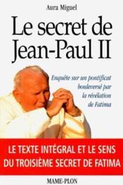 Secret De Jean Paul Ii - Couverture - Format classique