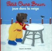 Petit Ours Brun joue dans la neige - Couverture - Format classique