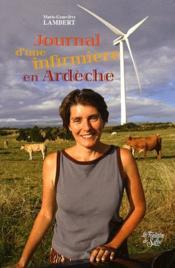 Journal d'une infirmière en Ardèche - Couverture - Format classique