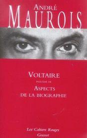 Voltaire ; aspects de la biographie - Intérieur - Format classique