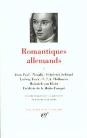 Romantiques allemands t.1 - Couverture - Format classique
