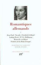 Romantiques allemands t.1 - Intérieur - Format classique