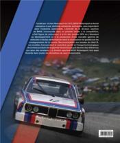 BMW motorsport - 4ème de couverture - Format classique
