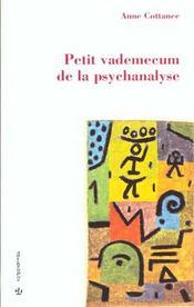 Petit vademecum de la psychanalyse - Intérieur - Format classique