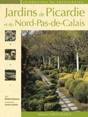 Jardins de Picardie et du Nord-Pas-de-Calais - Couverture - Format classique