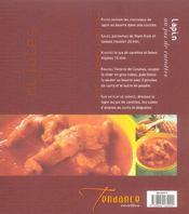 Plats mijotés - 4ème de couverture - Format classique