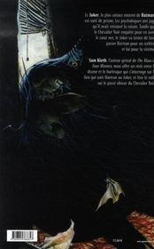 Batman Secrets - 4ème de couverture - Format classique
