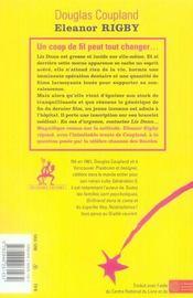 Eleanor Rigby - 4ème de couverture - Format classique