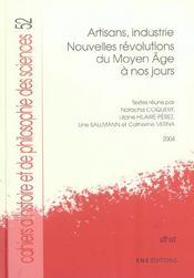 Cahiers D'Histoire Et De Philosophie Des Sciences, N 52. Artisans, I Ndustrie. Nouvelles Revolution - Intérieur - Format classique