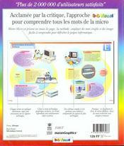 Dictionnaire 3d Visuel De La Micro - 4ème de couverture - Format classique