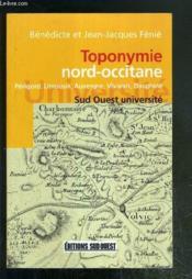 Toponymie nord-occitane - Couverture - Format classique
