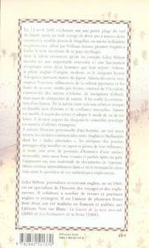 Samourai William - 4ème de couverture - Format classique