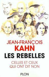 Les rebelles - Intérieur - Format classique