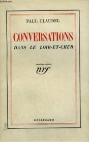 Conversations Dans Le Loir Et Cher. - Couverture - Format classique