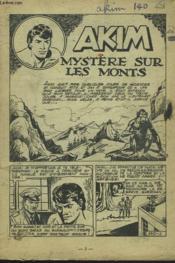 Akim N°140. Mystere Sur Les Monts. - Couverture - Format classique