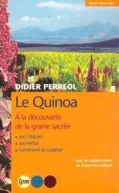Le Quinoa - Couverture - Format classique