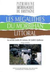 Les Megalithes Du Morbihan Littoral - Couverture - Format classique