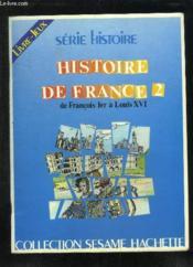 Histoire De France Ii - Couverture - Format classique