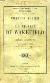 Le Vicaire De Wakefield - Couverture - Format classique