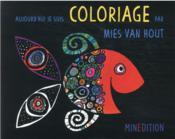Coloriage par Mies van Hout - Couverture - Format classique