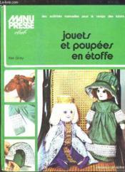 Jouets Poupees Etoffe - Couverture - Format classique