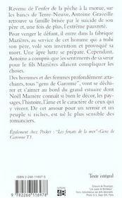 Les Gens De Garonne T.2 ; Combat Des Humbles - 4ème de couverture - Format classique
