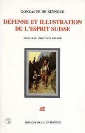 Defense et illustration de l'esprit suisse - Couverture - Format classique