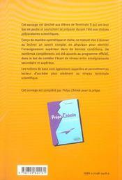 Prepa Physique Pour La Prepa Du Lycee Vers Le Superieur - 4ème de couverture - Format classique