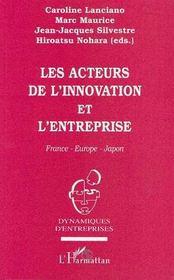 Les acteurs de l'innovation et l'entreprise - Intérieur - Format classique