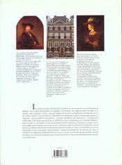 Rembrandt - 4ème de couverture - Format classique