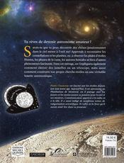 Je deviens astronome - 4ème de couverture - Format classique